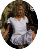 Noční košilka Molly z nejjemnější indické bavlny