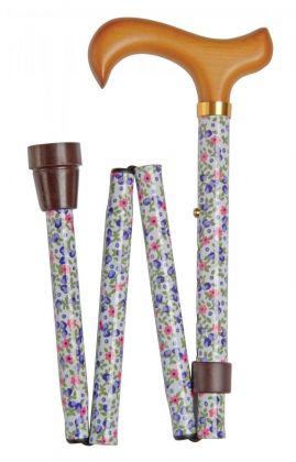 Vycházková hůl skládací/4816B - letní květ