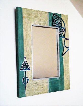 Zrcadlo/ tuniská tématika - ryba