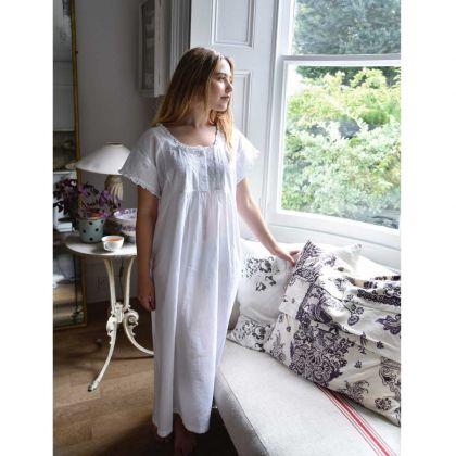 Noční košilka ze 100% indické bavlny Serena