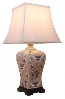 Stolní keramická lampa