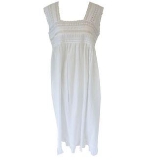 Noční košilka ELISA ze 100% indické bavlny