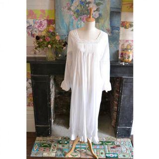 Noční košilka z indické bavlny/SN-213 Agnes
