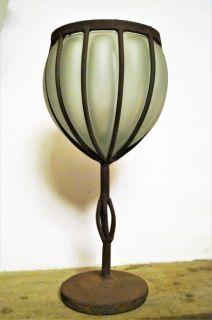 Originální váza ze silnostěnného skla