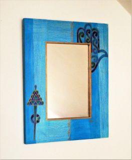 Zrcadlo/ tuniská tématika - ruka Fatmy