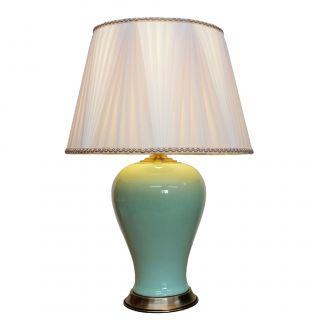 Stolní lampa Milky Green