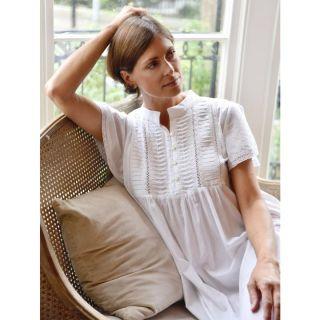 Noční košilka z indické bavlny Lara