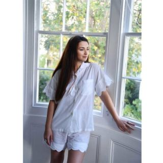 Dámské pyžamo ze 100% indické bavlny