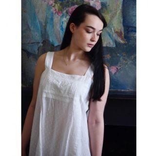 Noční košilka z indické bavlny Camilla